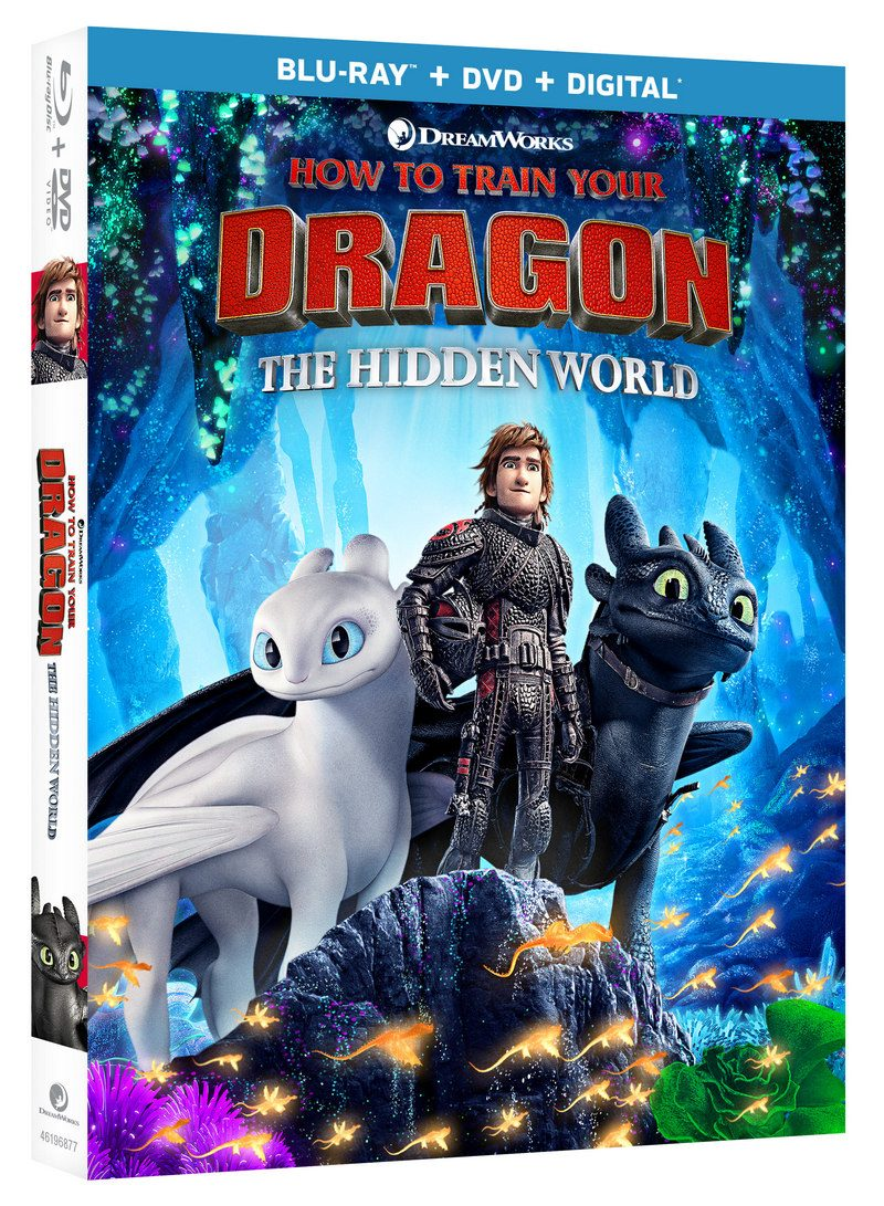 HTTYD Hidden World BRDD Cover How to Train Your Dragon: The Hidden World Blu-ray Combo Pack Giveaway