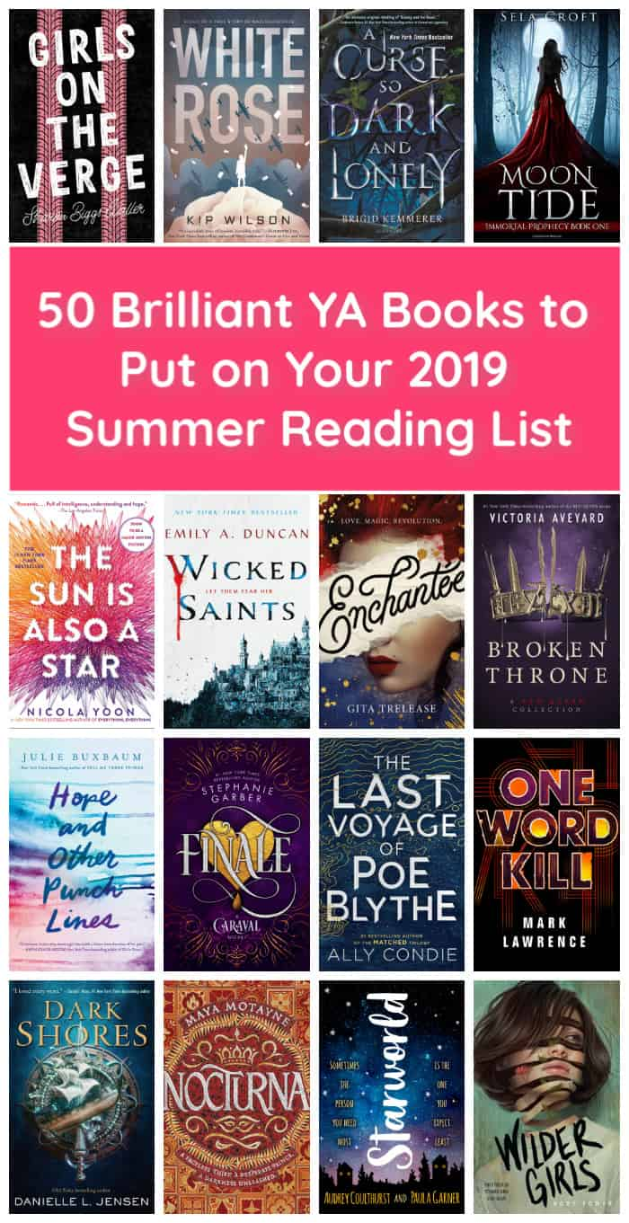 Whether you need a stack of great reads for your vacation or just one or two picks for a lazy weekend, if you love YA and teen books, you\'ll want to add these to your summer reading list!