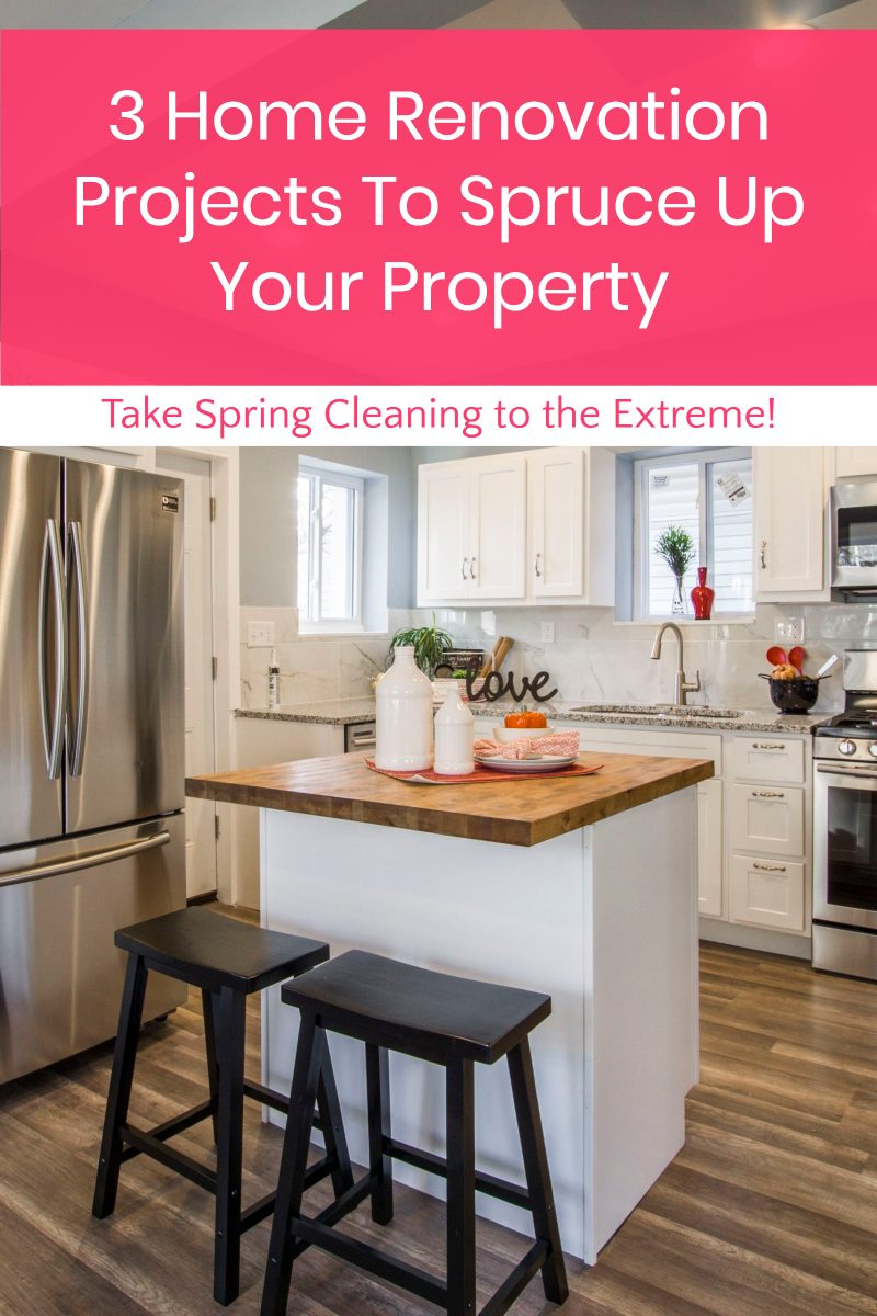 These three home renovation projects will help you shake off the cold stagnation of winter and fully embrace the spirit of spring.