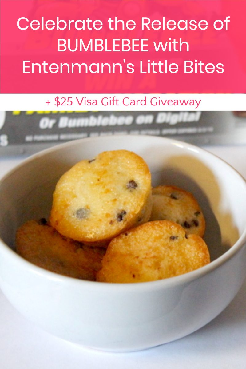 Celebrate the Release of BUMBLEBEE with Entenmann's Little Bites and enter for a chance to win a Visa gift card!
