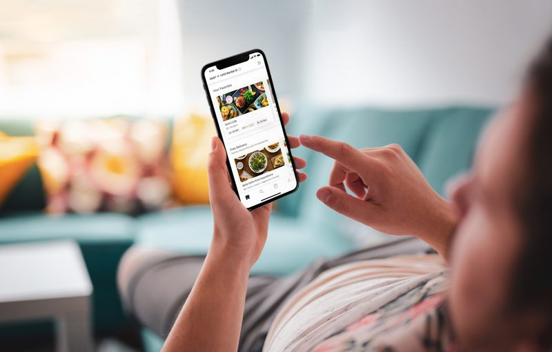 UberEats Photo App In Use 2 1 5 Reasons Why Uber Eats Will Become Your New Best Friend