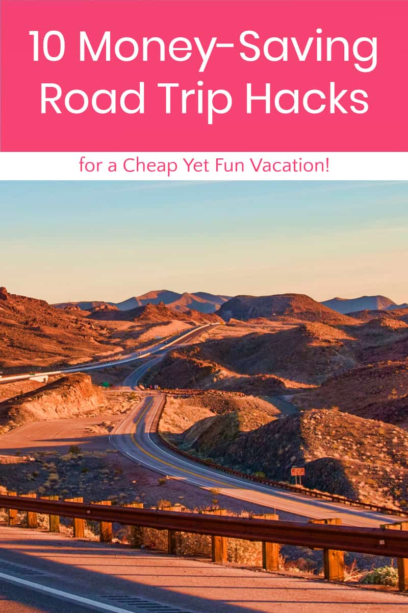 Planning a road trip? Read on for ten ways to save a bundle and take the cheapest vacation ever...without sacrificing an iota of fun! Plus, don\'t miss my favorite new road trip snack!