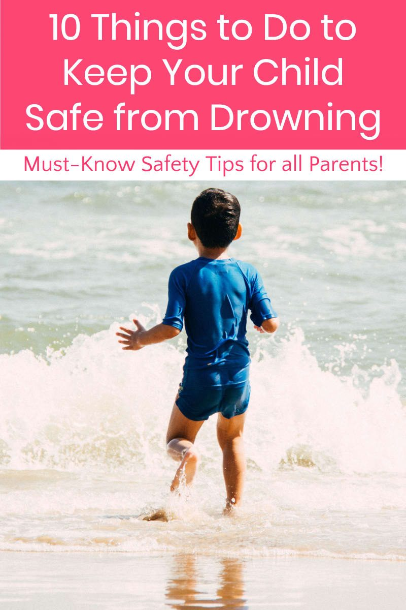 Drowning is 100% preventable, yet nearly 300 kids still die from it each year. Learn 10 things you can do to keep your family safe from tragedy!