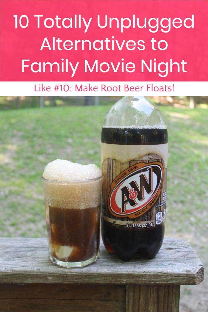 Want to break away from the screens and really spend time bonding with your kids this summer? Take the A&W Family Fun Night Pledge and vow to spend one hour each Friday night totally unplugged! Don't worry, with these fun alternatives your kids won't even miss zoning out in front of the TV!
