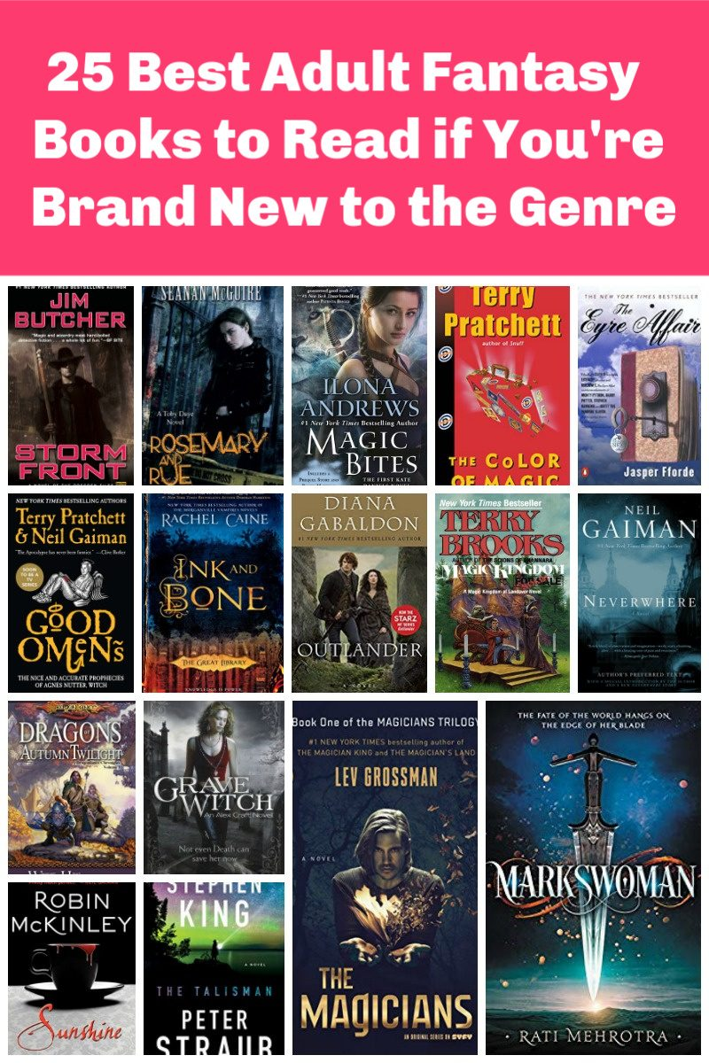 "If you're just getting into the adult fantasy genre and don't really feel like you're ready for the epics yet, don't worry! There are plenty of ""lighter"" fantasy reads just waiting to be discovered by you. Check out 25 to start with!"