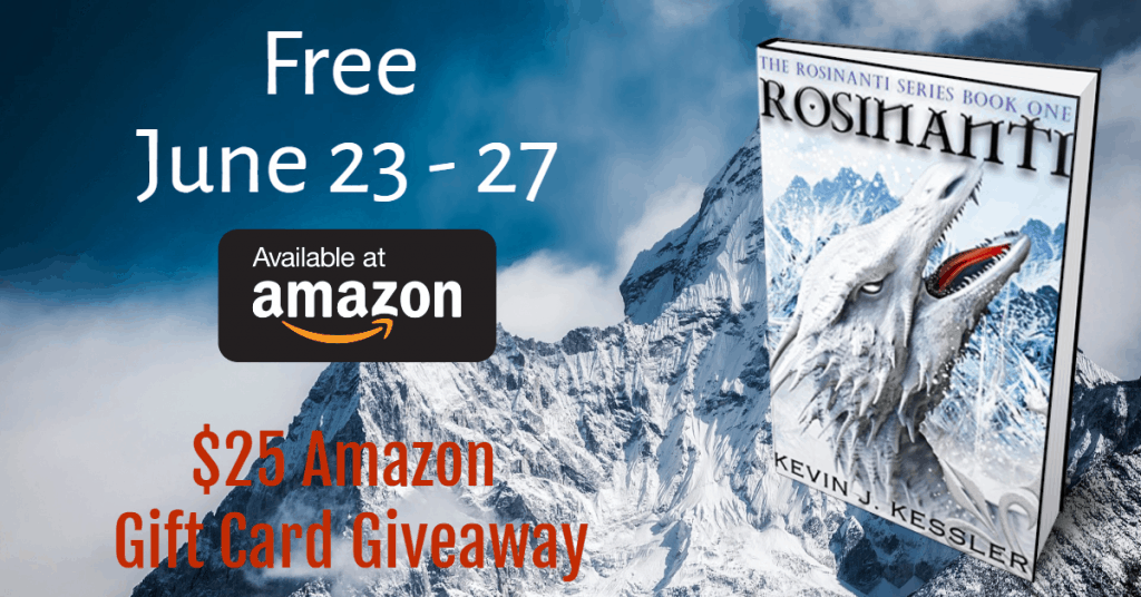 Rosinanti (A Ya Book for Dragon Lovers) is Currently FREE on Amazon (+ $25 Amazon GC Giveaway)