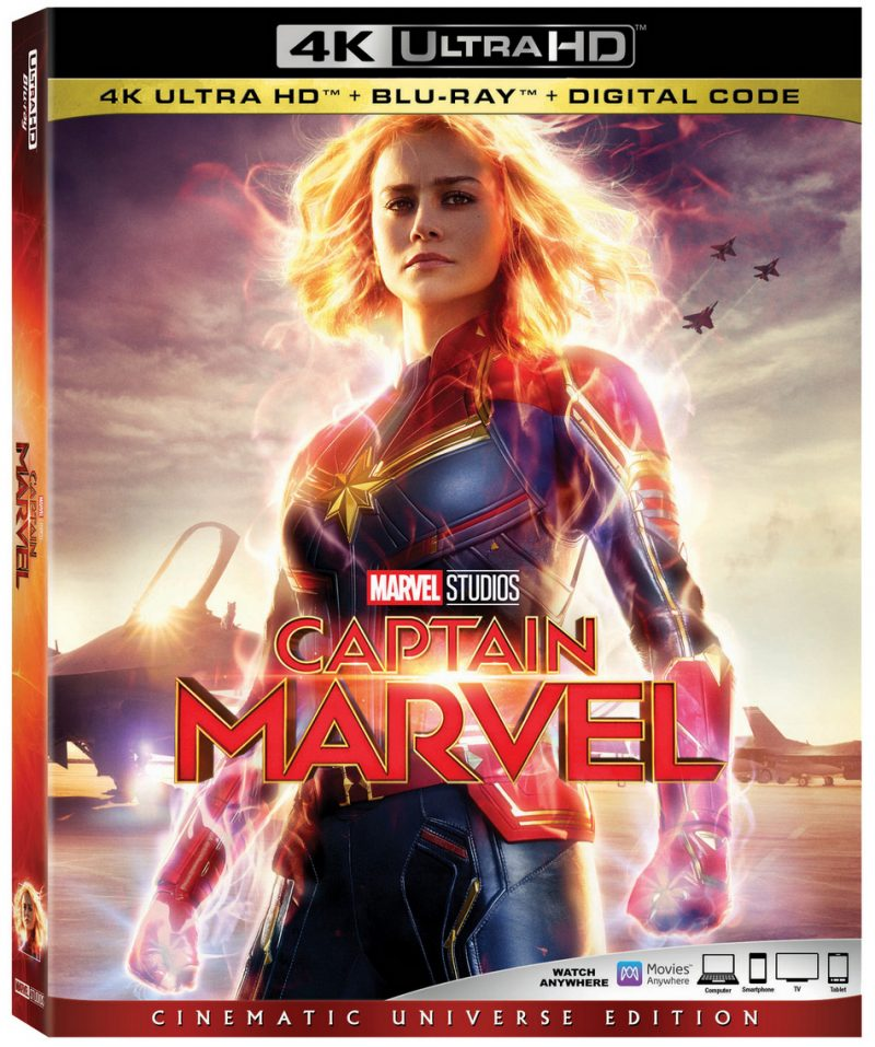 CaptainMarvel CoverArt 4KUltraHD Captain Marvel is Now Available on Blu-Ray/DVD (plus Grab Free Activity Sheets!)