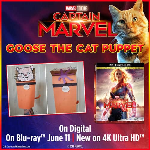 Flerken Captain Marvel is Now Available on Blu-Ray/DVD (plus Grab Free Activity Sheets!)