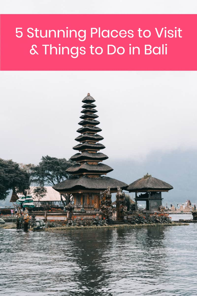 Known as a romantic destination, maybe you decide to come here for your anniversary or honeymoon. It's also a great place to come in you're traveling solo and want to relax and enjoy some time to yourself. Whatever brings you to Indonesia, here are a few of the sites you won't want to miss when you come to Bali.