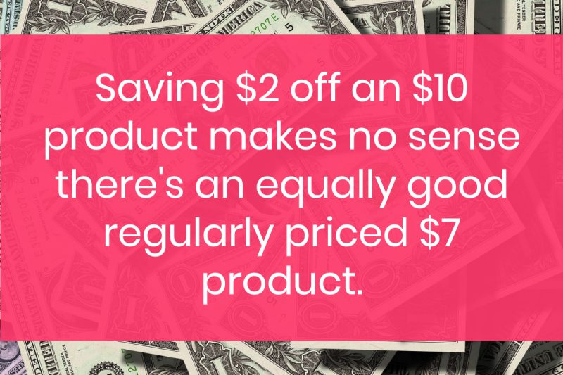 coupons waste money 10 Ways You're Wasting Money (Even When You Think You're Saving It)