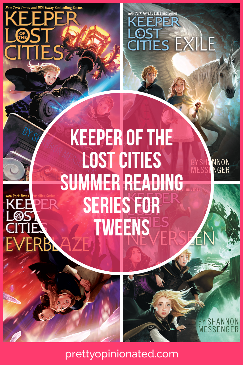 Fans of Harry Potter and The School of Good and Evil will devour the Keeper of the Lost Cities series! Check it out!