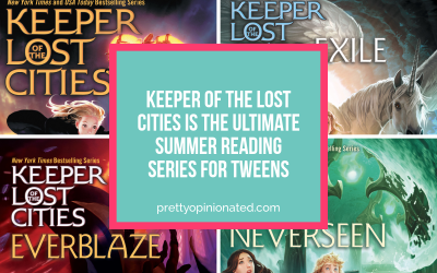 Keeper of the Lost Cities Summer Reading Series for Tweens  (+ $50 Visa Gift Card Giveaway)