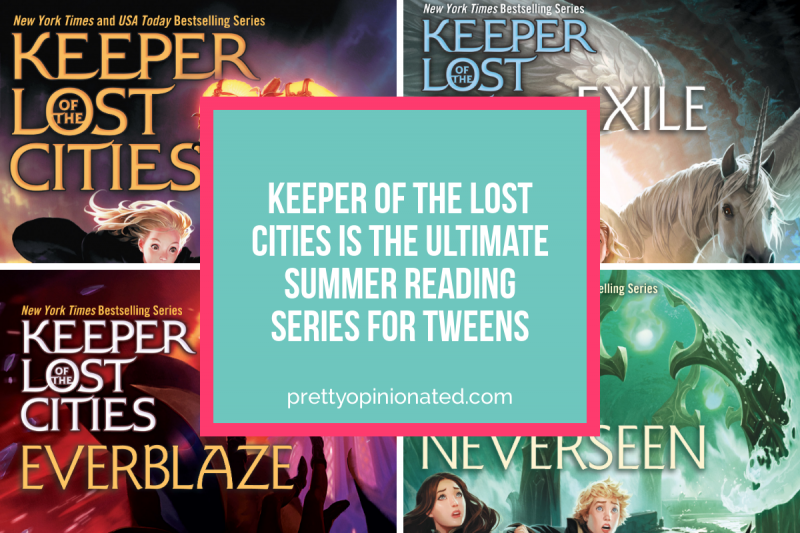 Keeper of the Lost Cities Summer Reading Series for Tweens