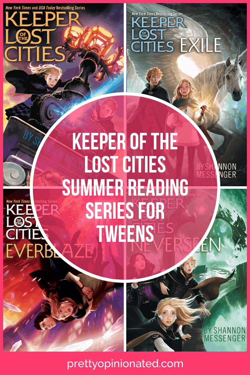 Looking for the perfect summer reading fantasy series for tweens? Keeper of the Lost Cities series will keep them lost in a good book all season long (pun intended)! Find out what makes it so awesome!