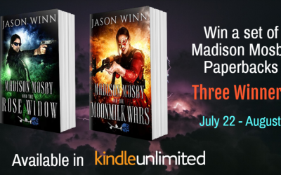 Love Urban Fantasy: Check out the Madison Mosby Series!
