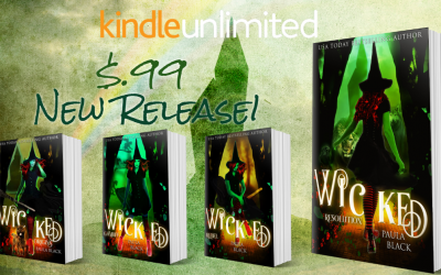 New Release! Wicked Resolution (Wicked Origins Book 4) is only $0.99!