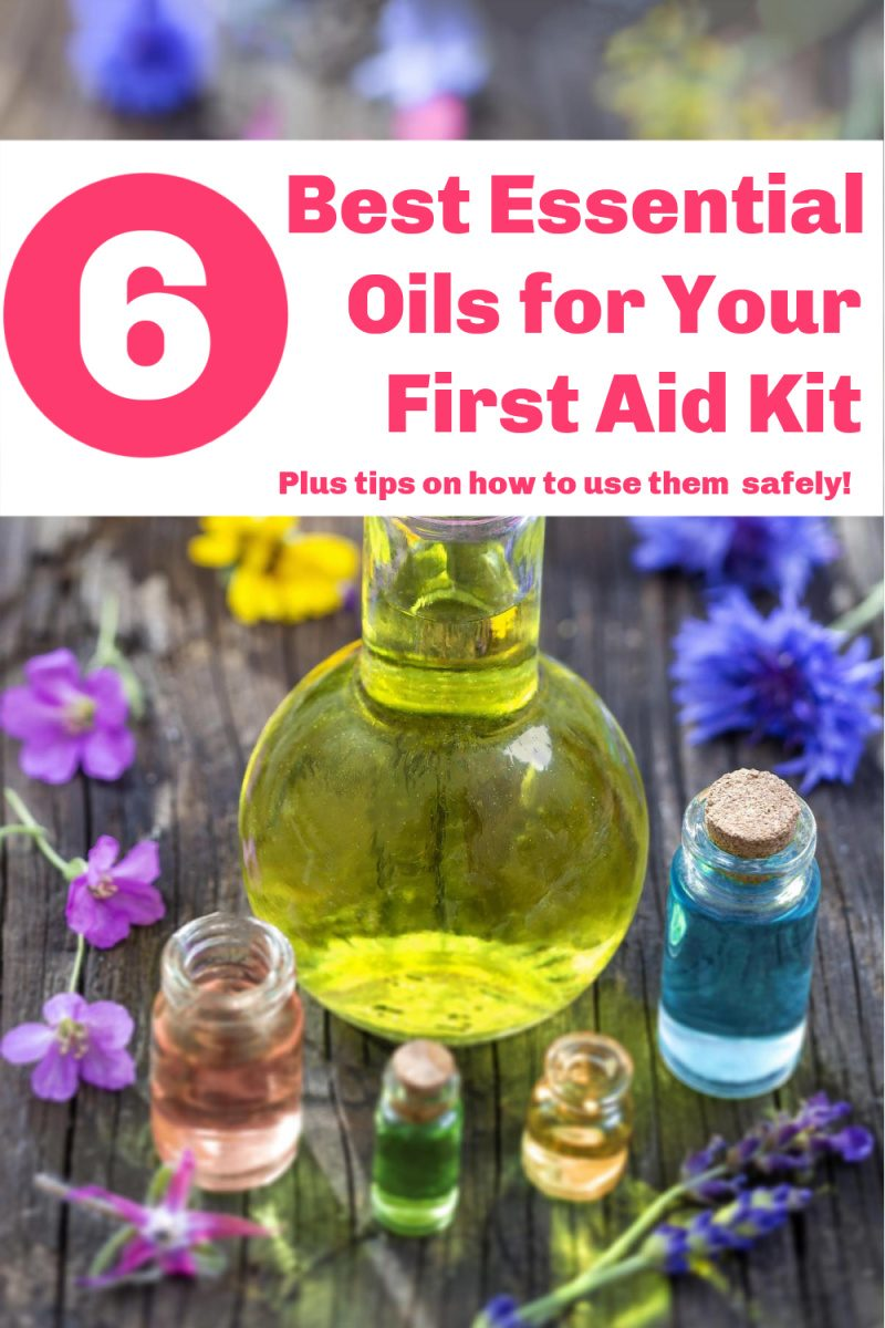 essential oils first aid 6  Essential Oils to Keep in Your First Aid Kit