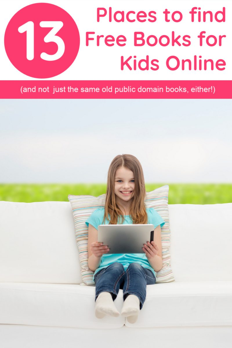 Finding free books for kids online is easier today that it's ever been, thanks to inventions like the Kindle and Nook. The hard part? Finding GOOD free online books that our middle graders actually want to read! I've done the work for you and came up with a list of places that offer really great free books for kids of all ages. Check it out!