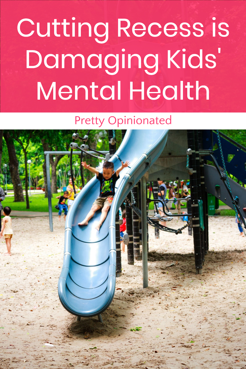 Cutting Recess is Damaging Kids' Mental Health