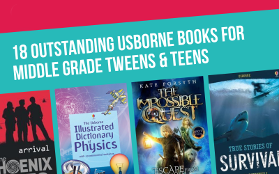 18 Outstanding Usborne Books for Middle School Tweens
