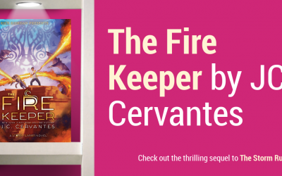 Rick Riordan Presents The Fire Keeper: The Thrilling Sequel to The Storm Runner (+ Visa GC Giveaway)