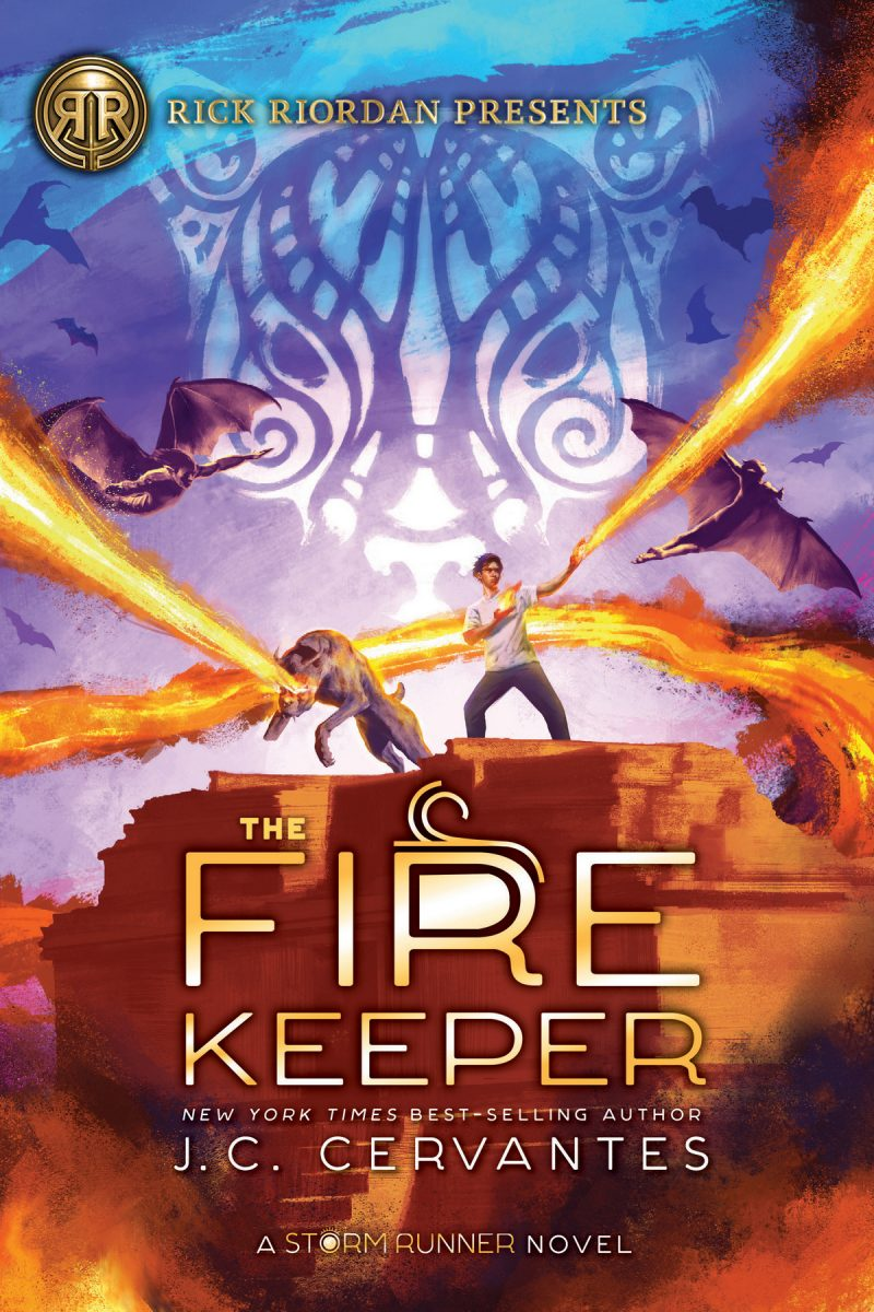 The Fire Keeper is a brilliantly plotted action-packed sequel to Cervantes' masterful middle-grade book, The Storm Runner.