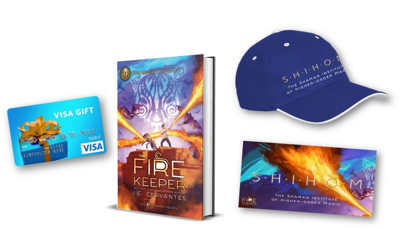 TheFireKeeper Visa Rick Riordan Presents The Fire Keeper: The Thrilling Sequel to The Storm Runner