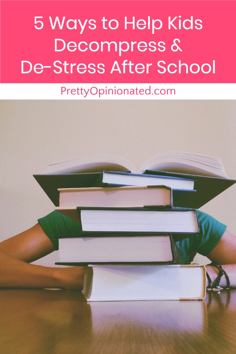 If back to school season is totally stressing out your kids, I've got a few ideas for helping them decompress and de-stress after a long day in the classroom. Check them out!