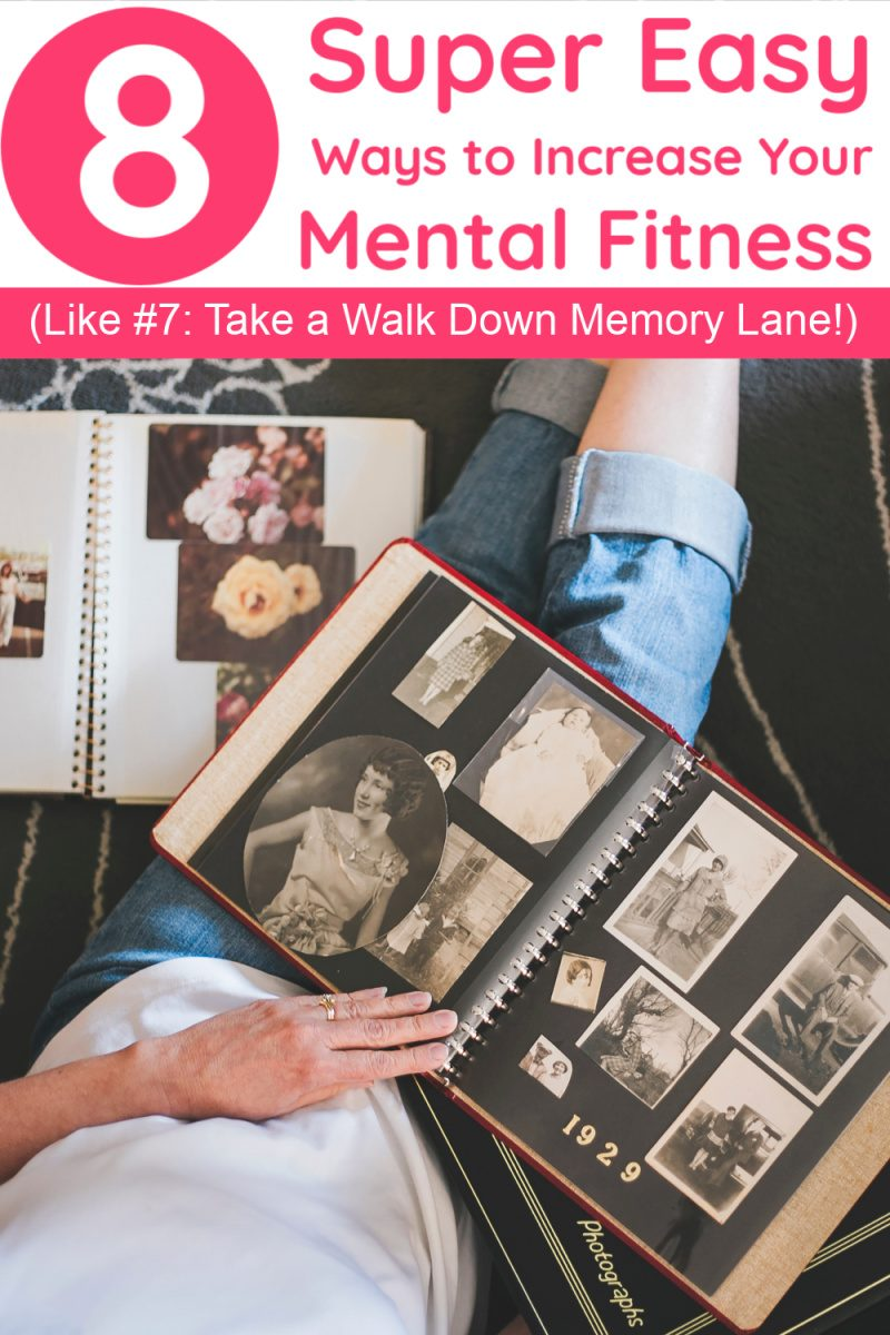 Looking for tips to help increase your mental fitness & improve your focus? Read on for 8 easy (as in, you can do them right now) tips that will help boost your brainpower and make you a more productive person.