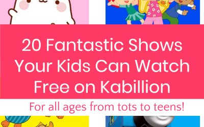 20 Fantastic Shows Your Kids Can Watch Free on Kabillion