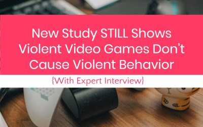 New Study STILL Shows Video Games Don't Cause Violence (with Interview)