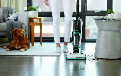 Save Pets (and Your Floor!) with the BISSELL CrossWave Cordless Max