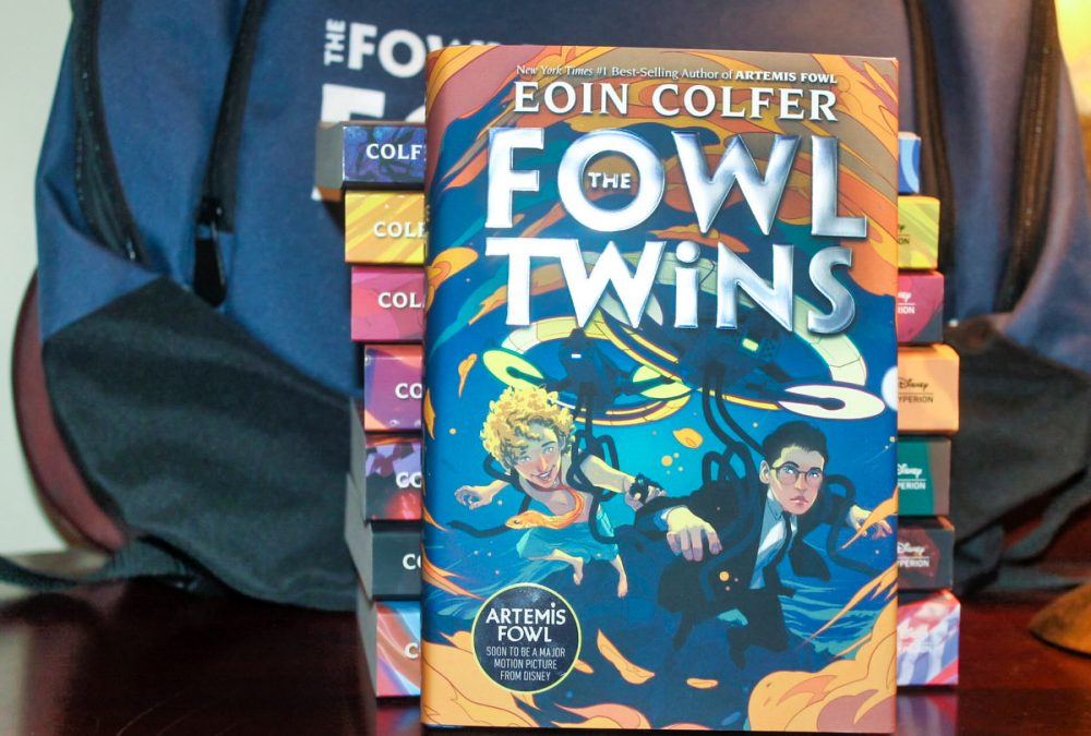 "Return to the Artemis Fowl Universe with ""The Fowl Twins"" by Eoin Colfer"
