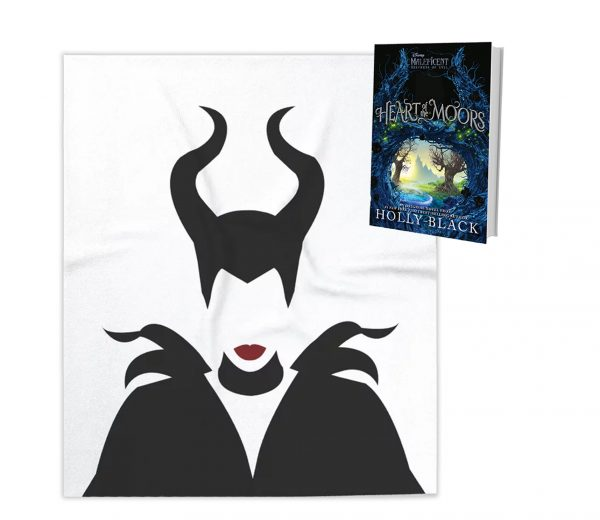 HeartoftheMoors BlanketPrizePack Heart of the Moors is a Double Treat for Fans of Disney's Maleficent & Holly Black