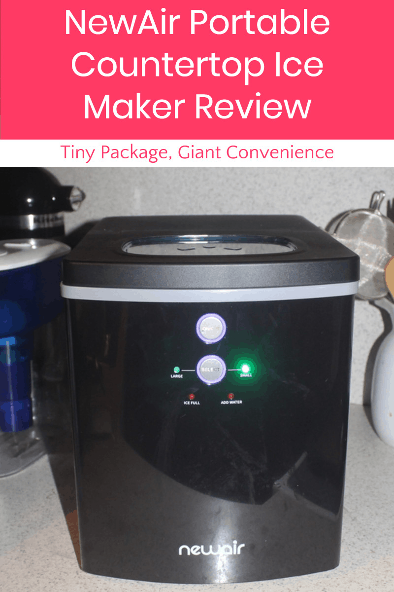 If you're looking for a fast, easy and portable way to make ice on the fly, let me introduce you to the NewAir Portable Countertop Ice Maker. It's a whole lot of convenience in a tiny package! Read on for my complete review to find out whether it's right for your home.