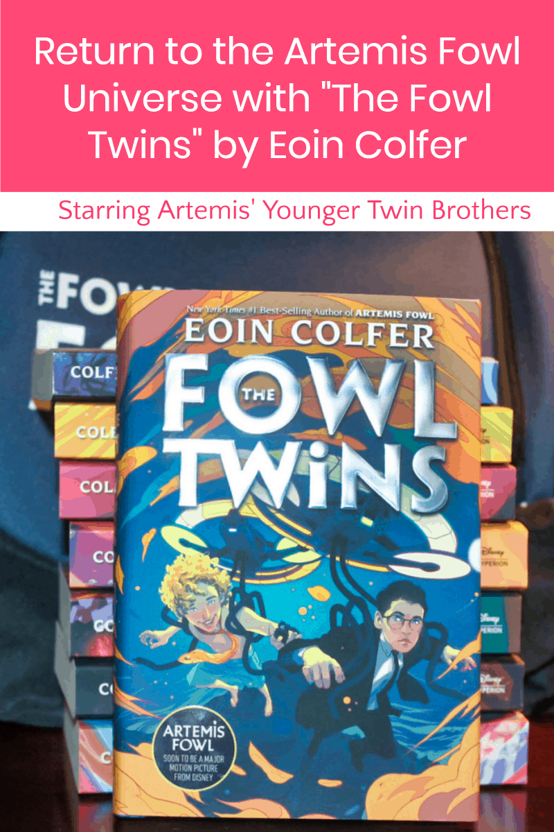 Missing Artemis Fowl? Cheer up, sunshine, Eoin Colfer\'s taking us back to his wonderfully weird and fantastically fantastical world in The Fowl Twins, a brand new  spin-off featuring Artemis\' younger twin brothers. Check it out! #TheFowlTwins