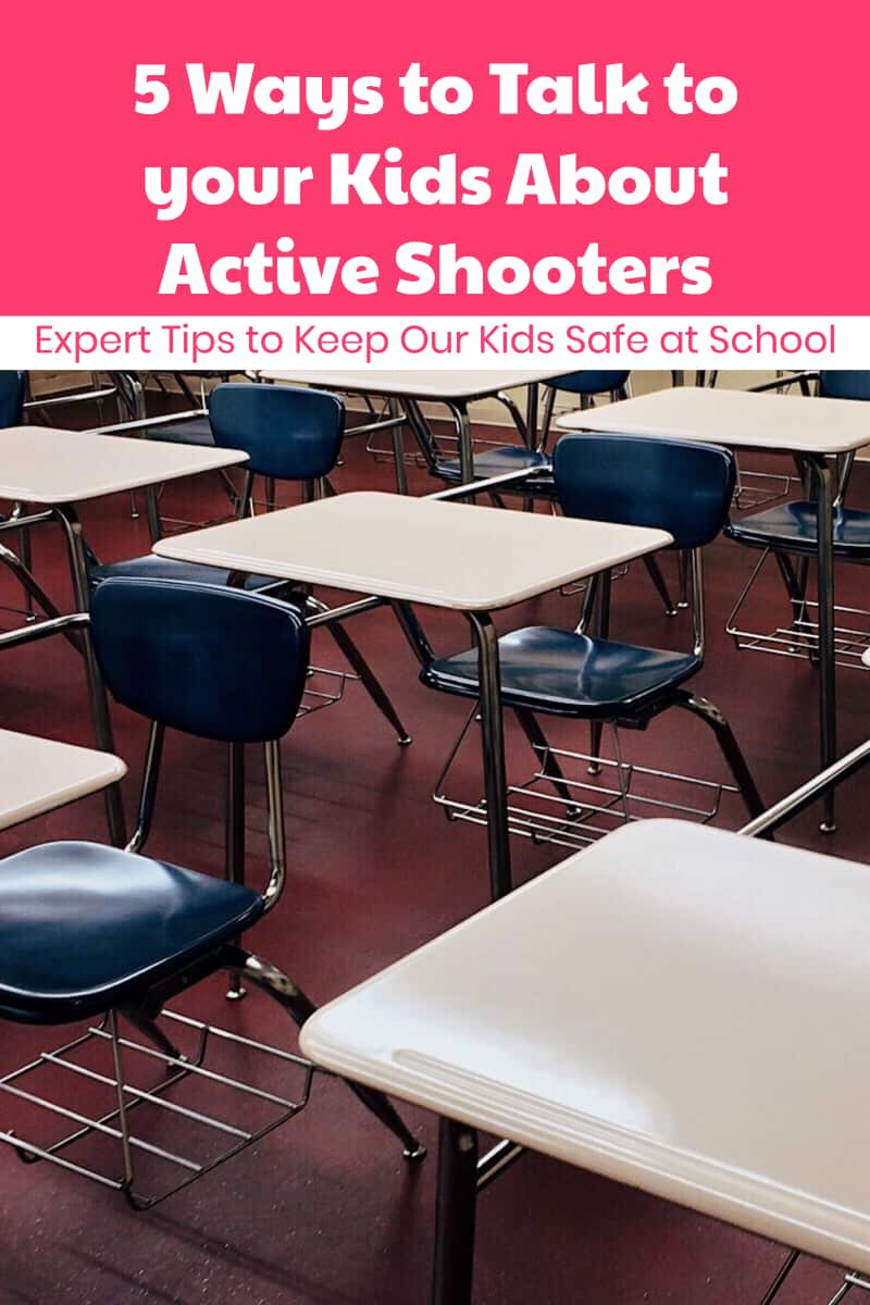 How do you even begin to talk to kids about something as scary as an active shooter scenario? Read on for 5 expert tips.