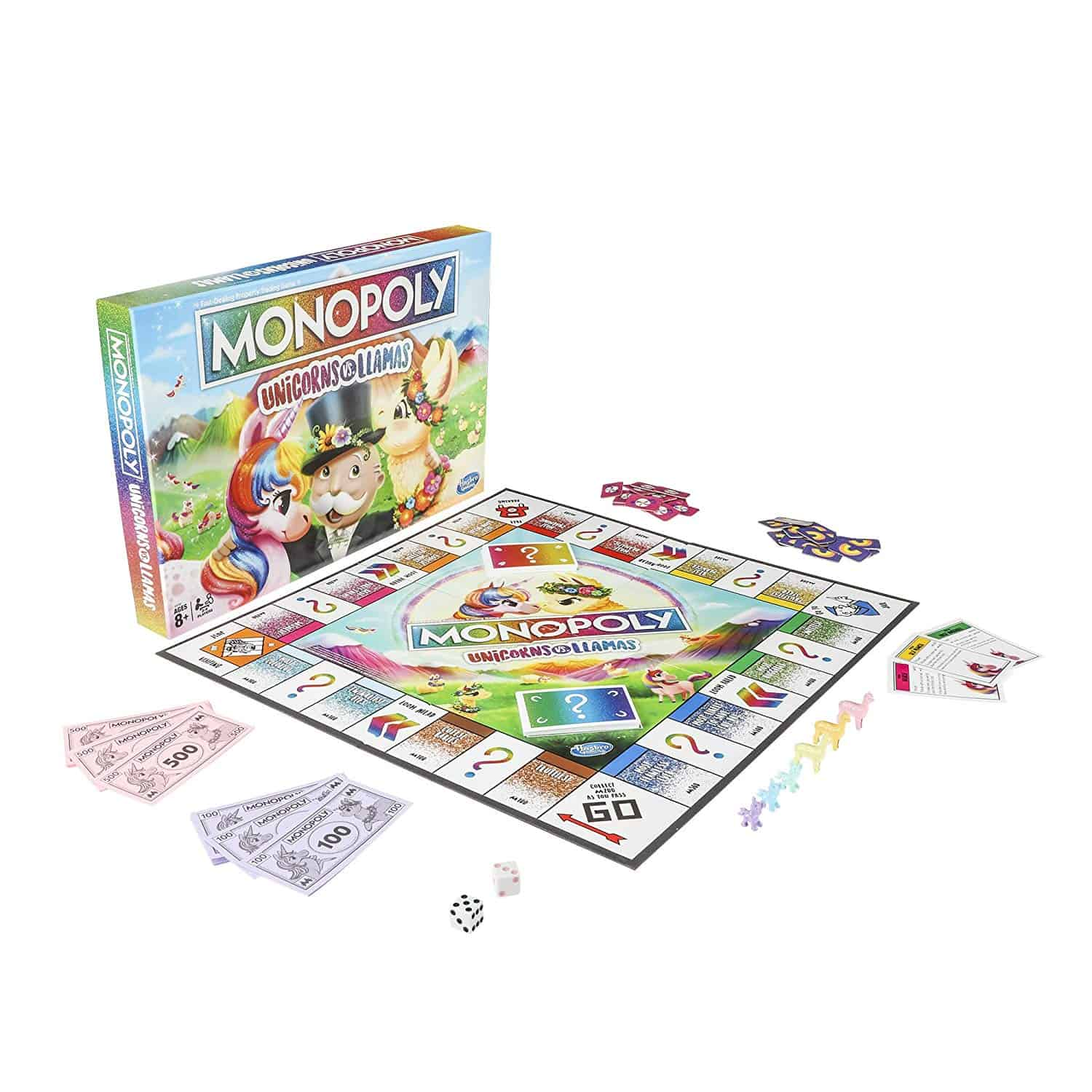 Monopoly Unicorns vs LLamas 2019 Holiday Gift Guide for All Ages