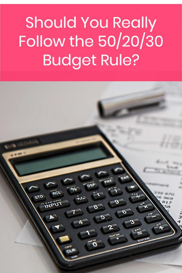 How Closely Should You Follow the 50/30/20 Rule of Budgeting?
