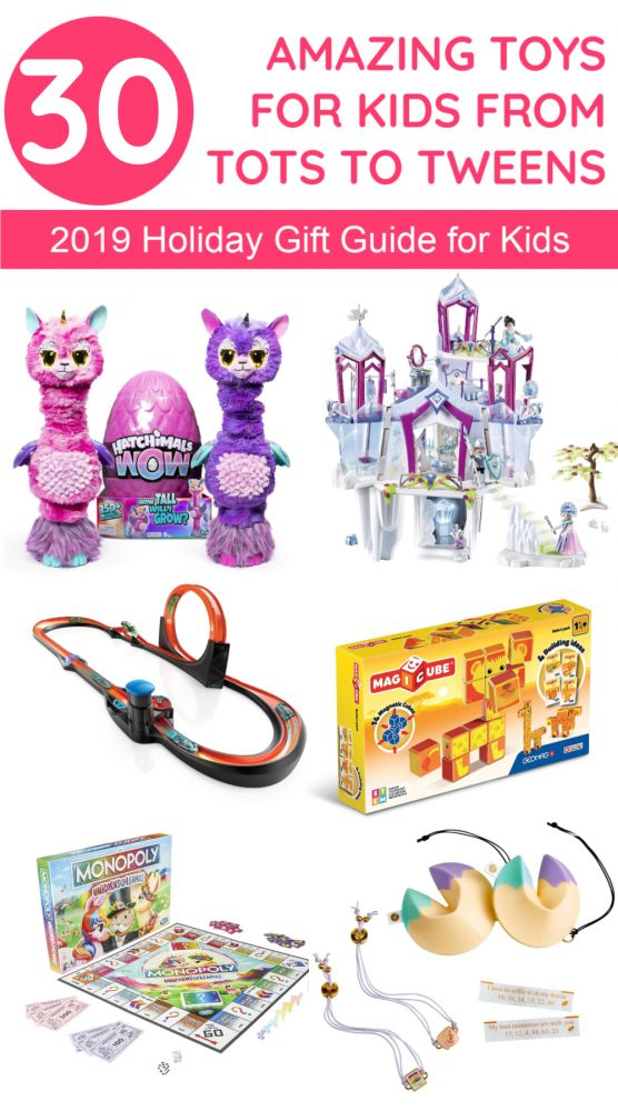If you're on the hunt for the hottest, funnest, and most educational gift ideas for kids from tiny tots all the way to tweens, I've got you covered! Read on to discover 30 fantastic holiday toys for kids of all ages!