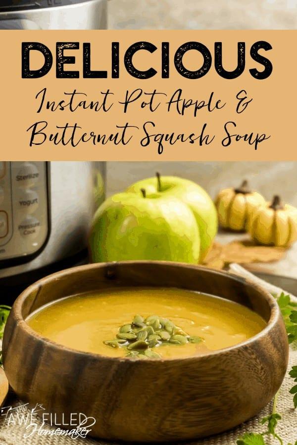nstant Pot Appleand Butternut Squash Soup