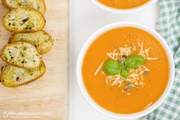 Easy Fresh Tomato Soup Recipe