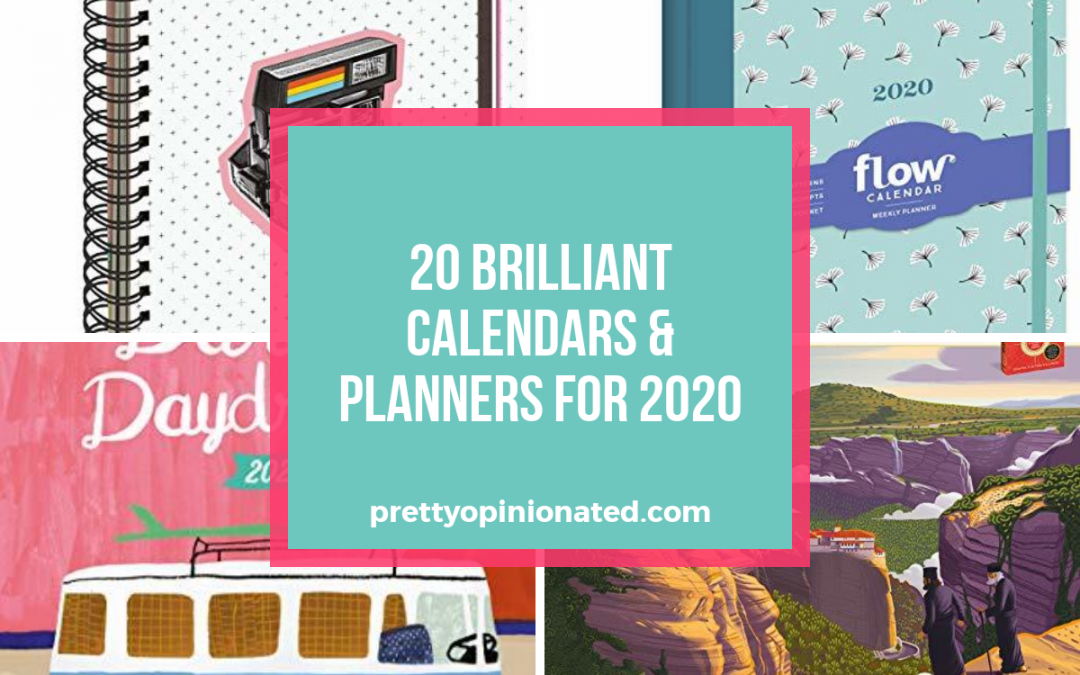 20 Brilliantly Fun and Unique Calendars & Planners for 2020