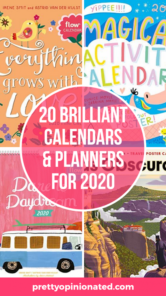 Get ready to organize your entire life with these brilliant calendars and planners for 2020! Grab your favorites for yourself (trust me, you'll want more than one) or buy a bunch to give out as last-minute gifts.