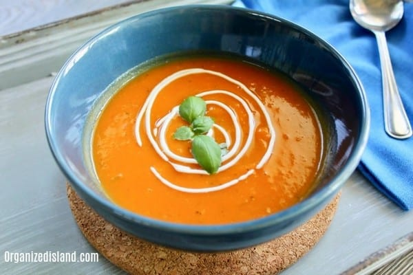 Easy Sweet Potato Soup