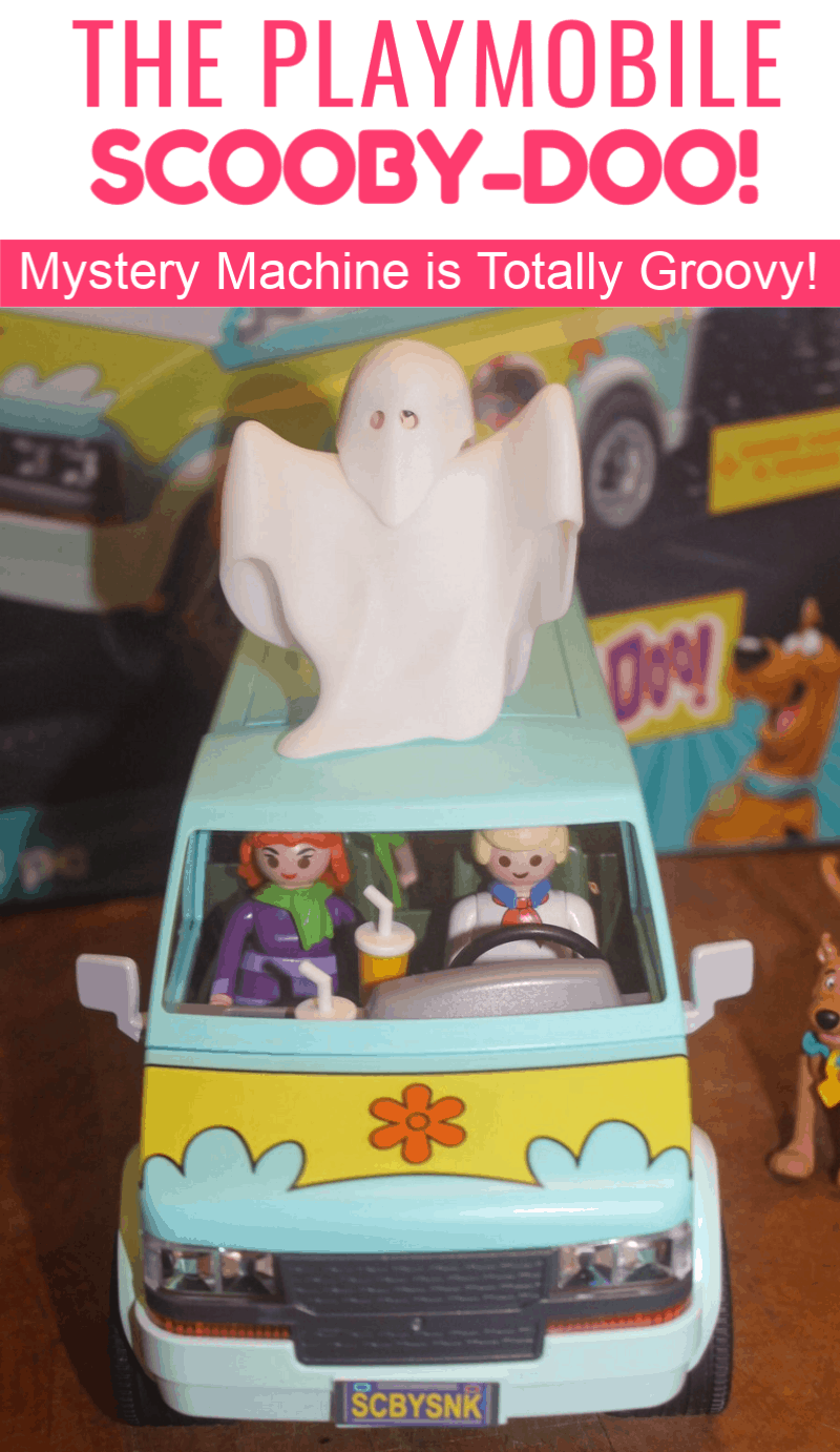 No mystery here! In the words of wonderful & wise Shaggy, the PLAYMOBILE SCOOBY-DOO! Mystery Machine is, like, totally groovy! Check it out!