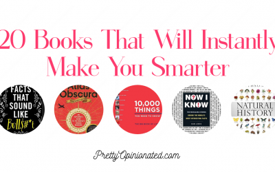 20 Books That Will Help You Learn Something New Every Day