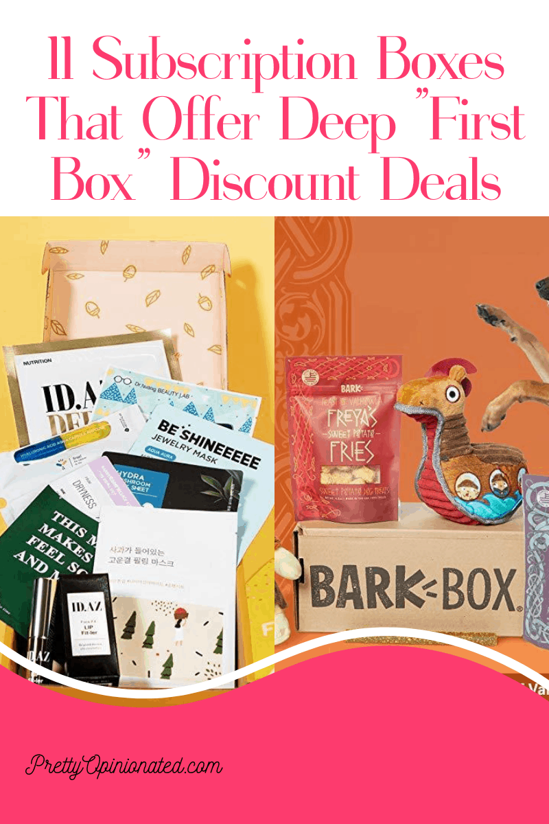 Want to try out a new subscription box but don't really feel like dropping a heavy chunk of change on something that may be pure junk? Check out 11 that offer deep discounts on your first box so you can actually make sure you like it before committing to full price.