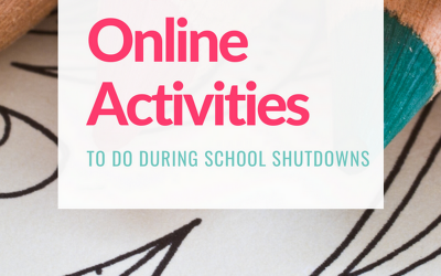 Wondering what on earth you'll do to keep kids occupied during school shutdowns?Check out my list of 50+ free resources and ideas that you can do at home, including printable games, coloring sheets, free eBooks, movies & more.