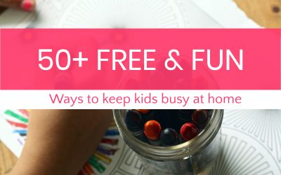 50+ Free Entertainment Resources to Keep Kids Busy During School Shutdowns